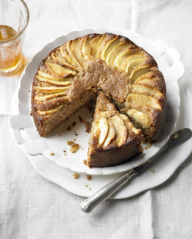 malted apple cake recipe