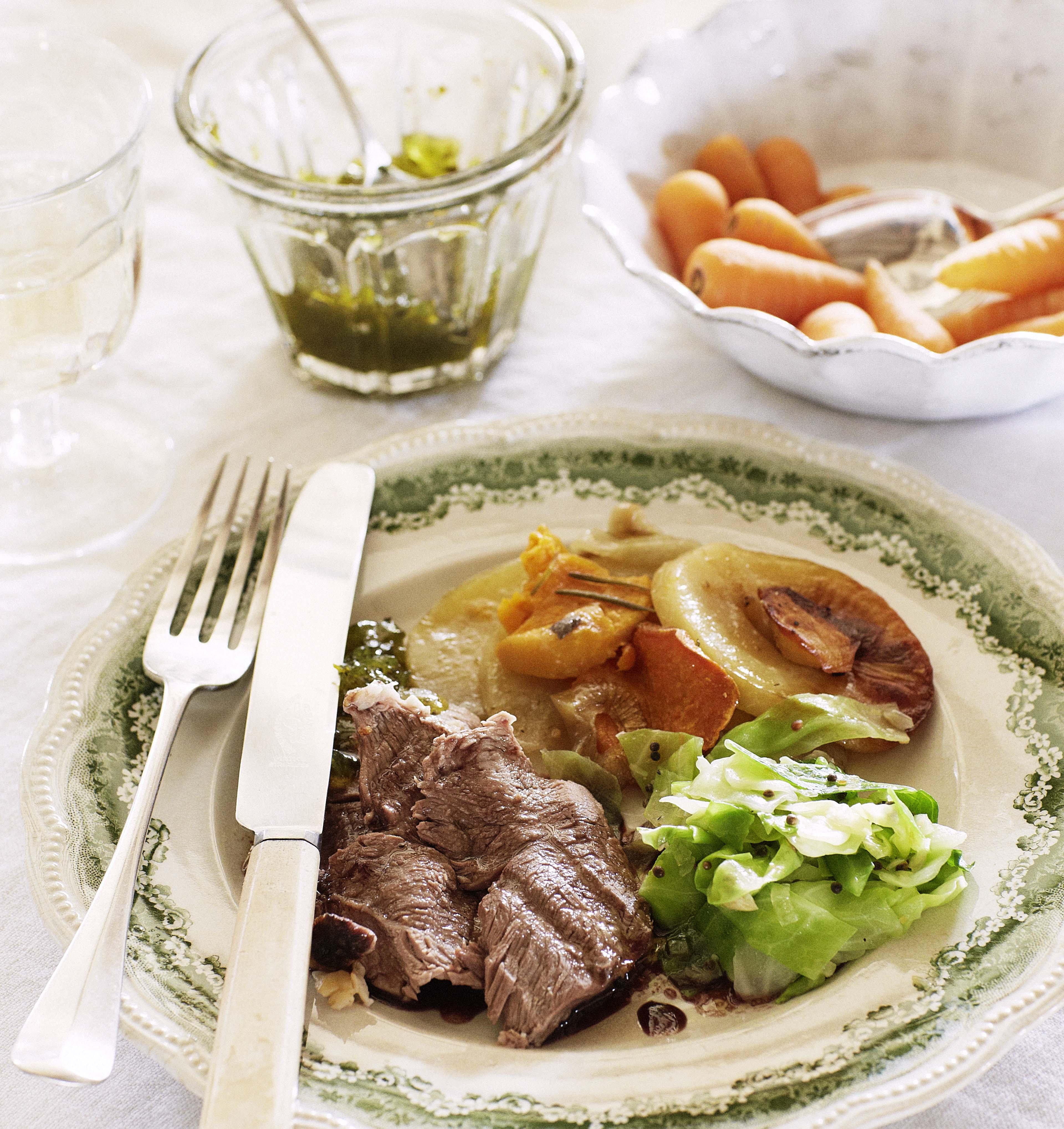 ... herb garlic roast potatoes rosemary garlic roast leg of lamb with red