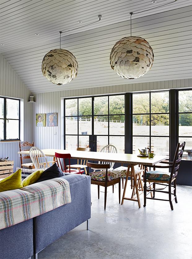 Modern Rustic Living Room Design Ideas: Country Living Modern Rustic