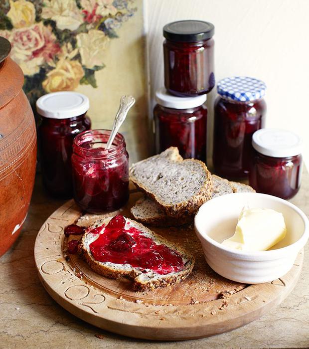 Blackberry and pear jam recipes for Blackberry pear jam