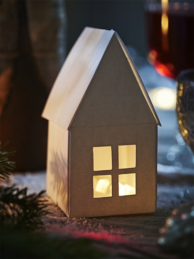 Netcountry House Lighting : Paper crafts from Christmas decorating feature from the December 2014 ...