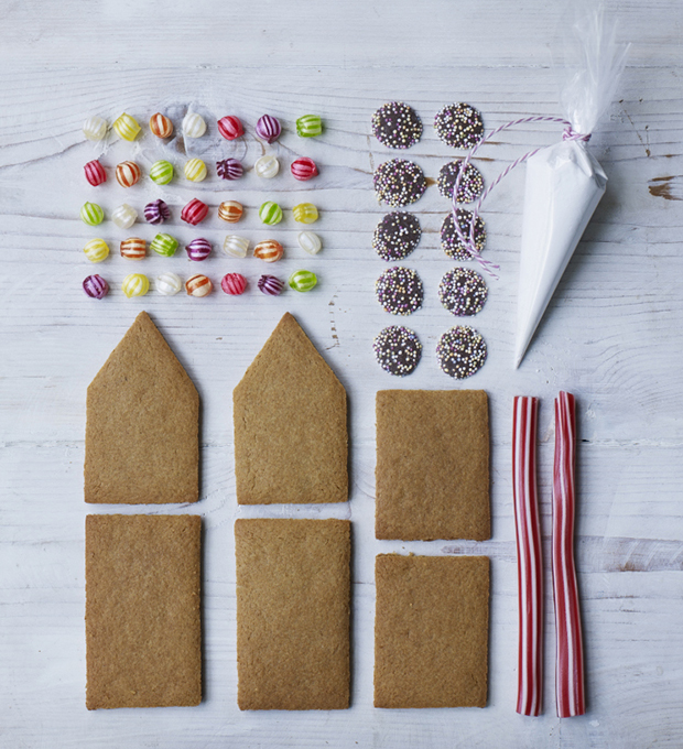 Make Your Own Gingerbread House Kit Homemade Gifts